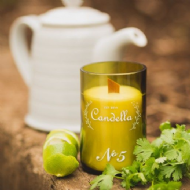Candella - No 5 # Tea Leaves & Bergamot Candle